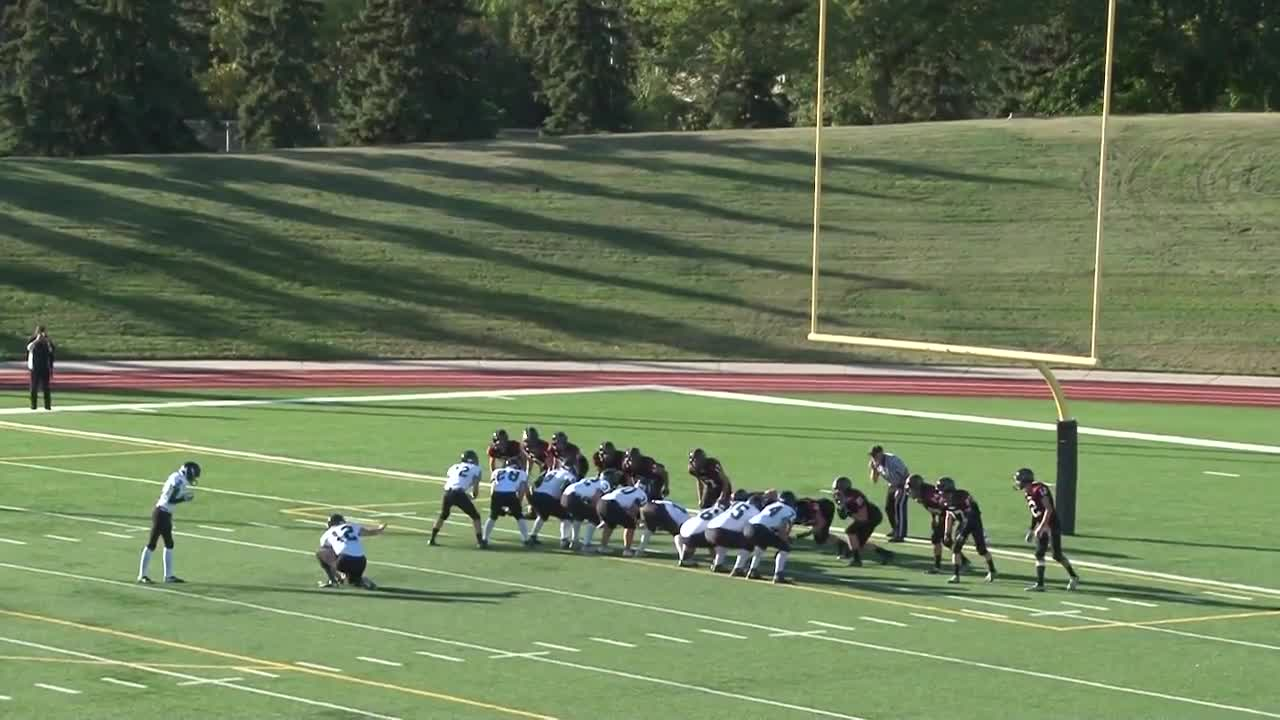 Salisbury Composite High School vs. Parkland football - Panthers ...