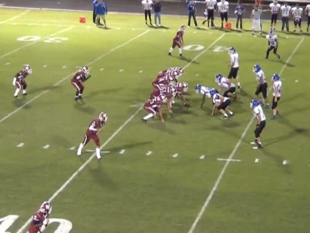 Wynnewood High School vs. Healdton - Tyler Keith highlights