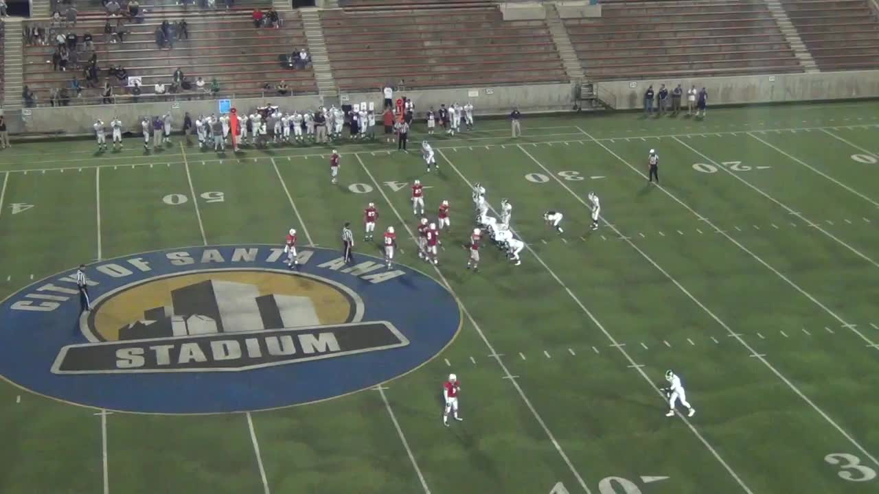 Santiago High School Vs Santa Ana Junior Ortega Highlights