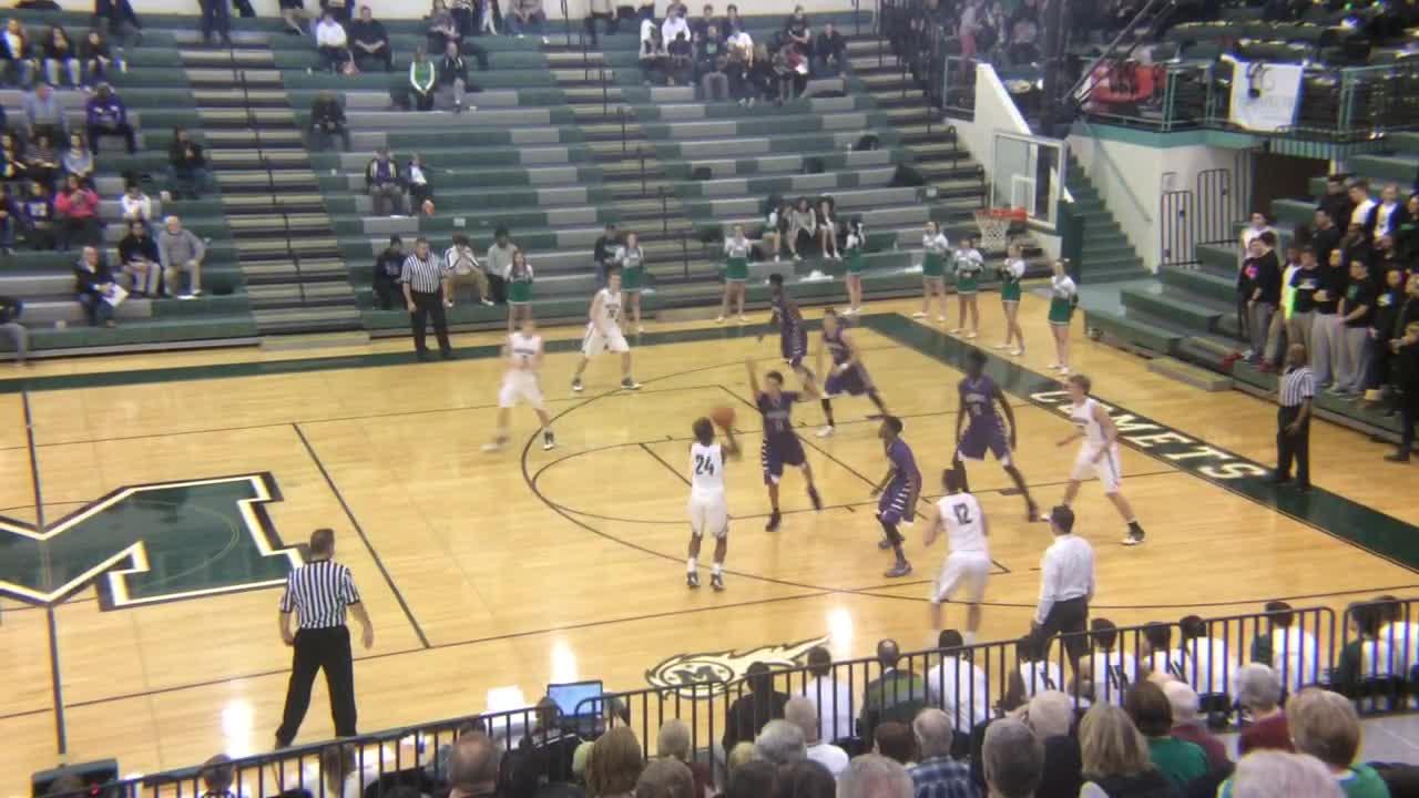 Mason High School vs. Middletown - Kyle Lamotte highlights