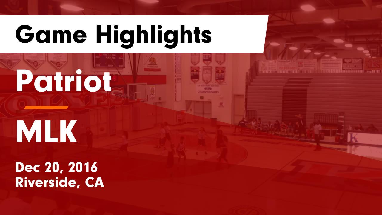 Girls' Freshman Basketball - Patriot High School - Riverside ...
