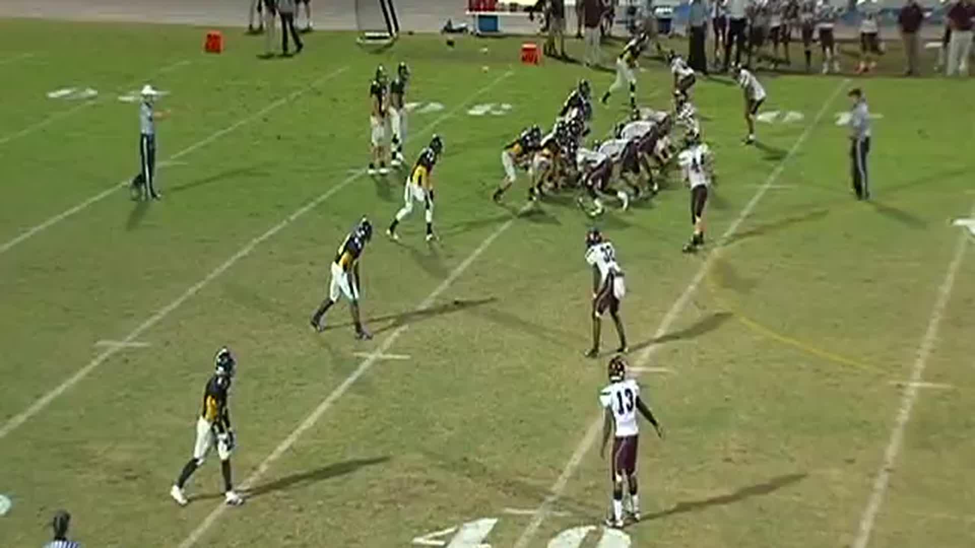 vs. Wiregrass Ranch - Curtis Fitch highlights - Hudl