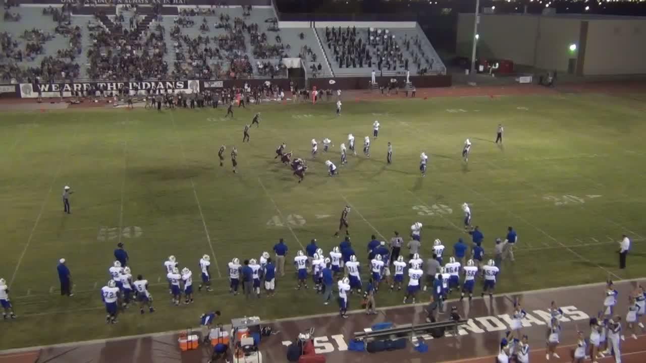 Boys Varsity Football Ysleta High School El Paso Texas